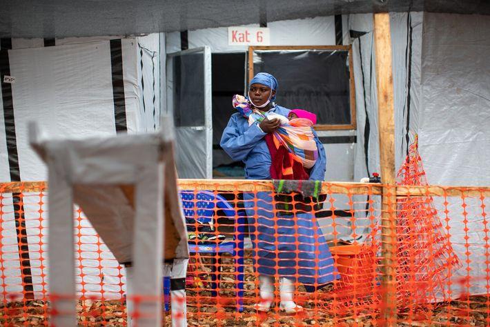 Ebolapatienten