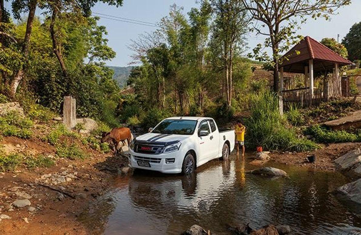 Für seinen Besitzer Piyawot Anurakbranpot kam wie für so viele in der Gegend der Wohlstand mit …