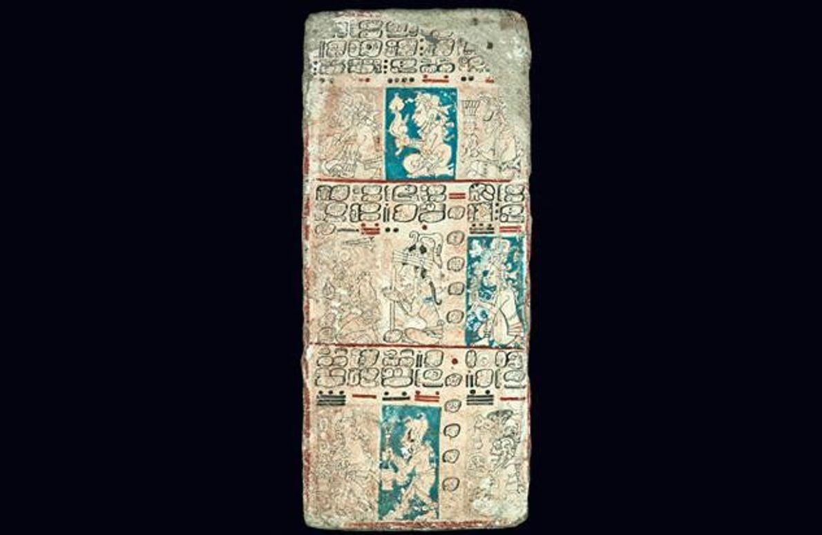 Der Kalender entstand um das Jahr 1250 wohl auf der nördlichen Halbinsel Yucatán. Er diente Priestern …