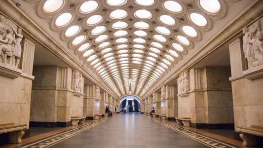 Galerie: Die überraschende Eleganz der Moskauer Metro