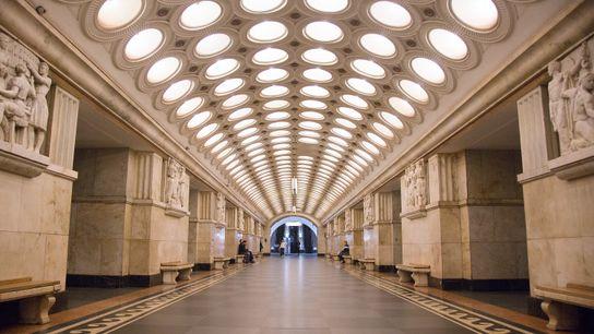 Elektrozavodskaya Metro Station