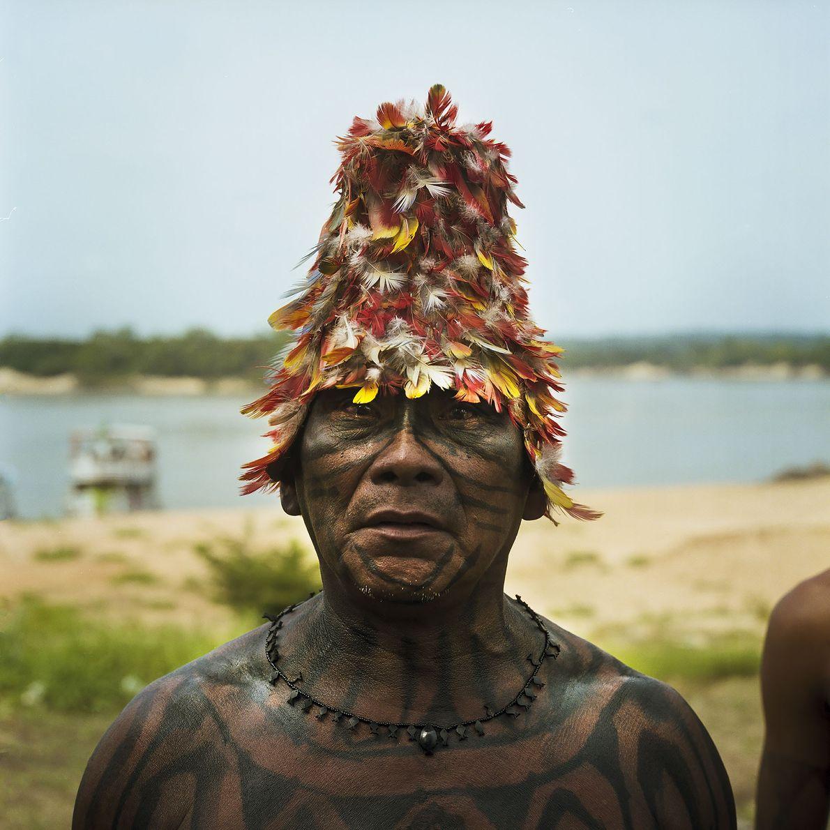 Häuptling der Munduruku