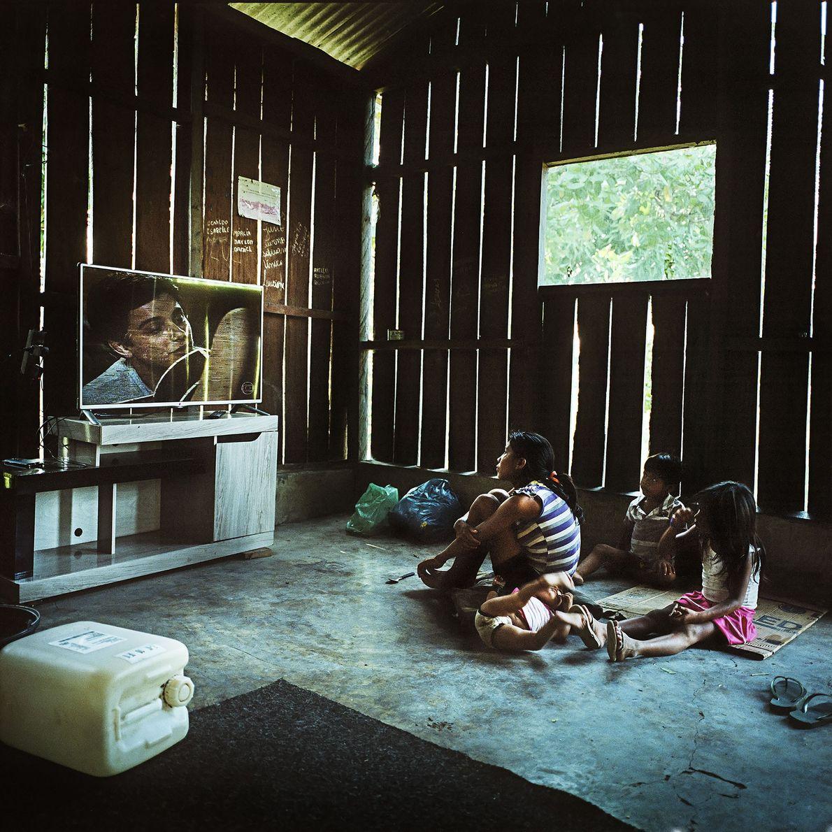 Munduruku-Familie