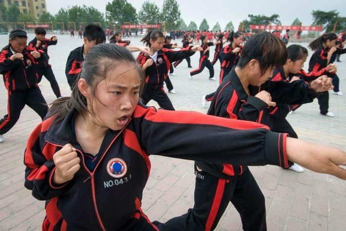 Kung-Fu-Schüler
