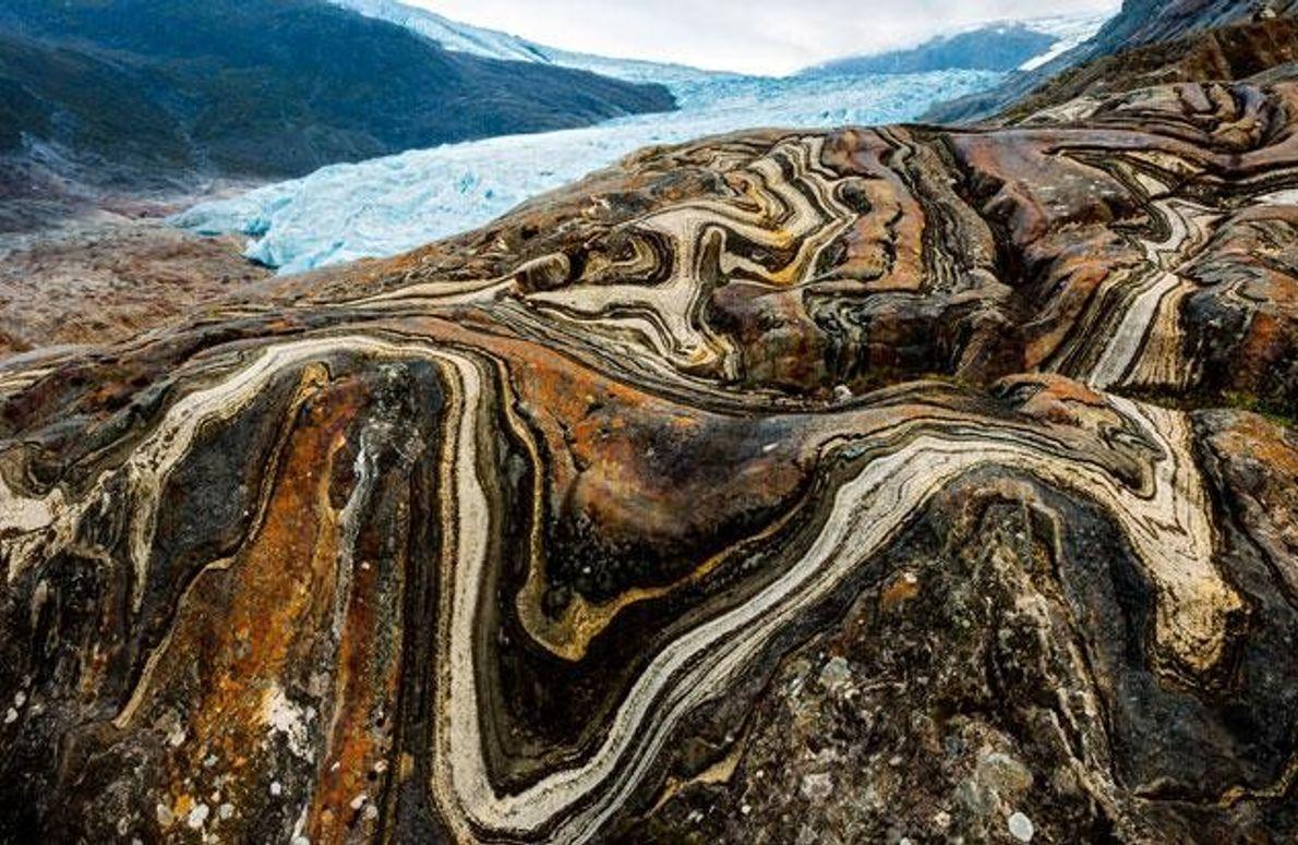 Engabreen-Gletscher