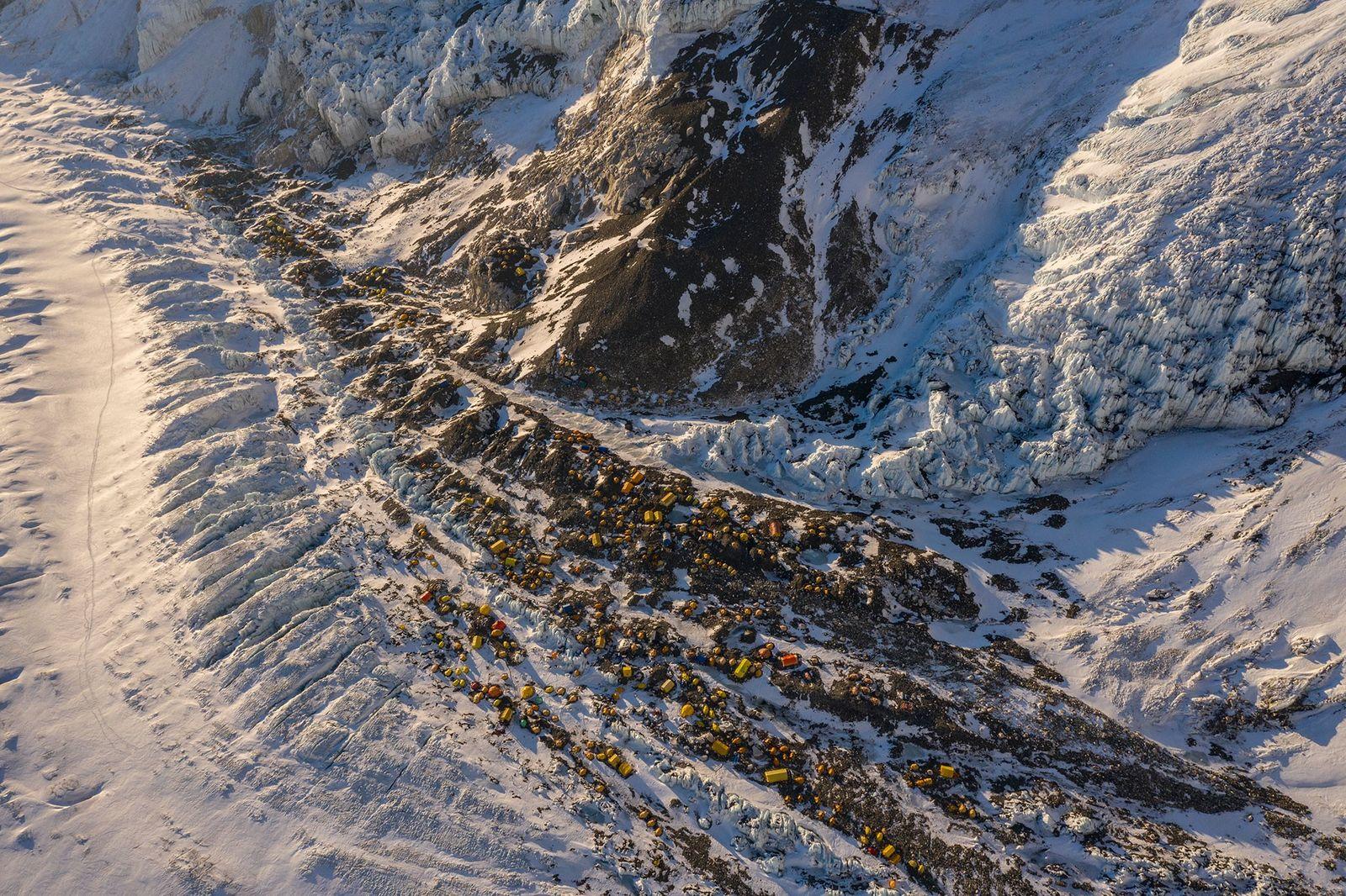 Lager 2 des Mount Everest