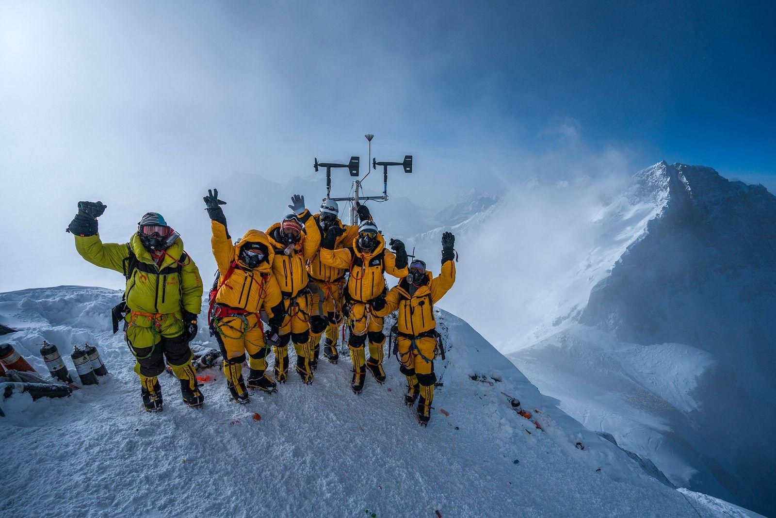 Wetterstation auf Gipfel