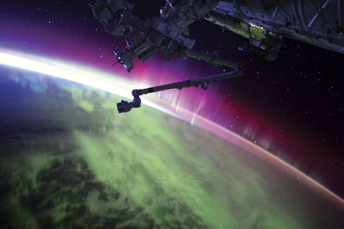 Wie sehen Feiertage für Astronauten im Weltall aus?