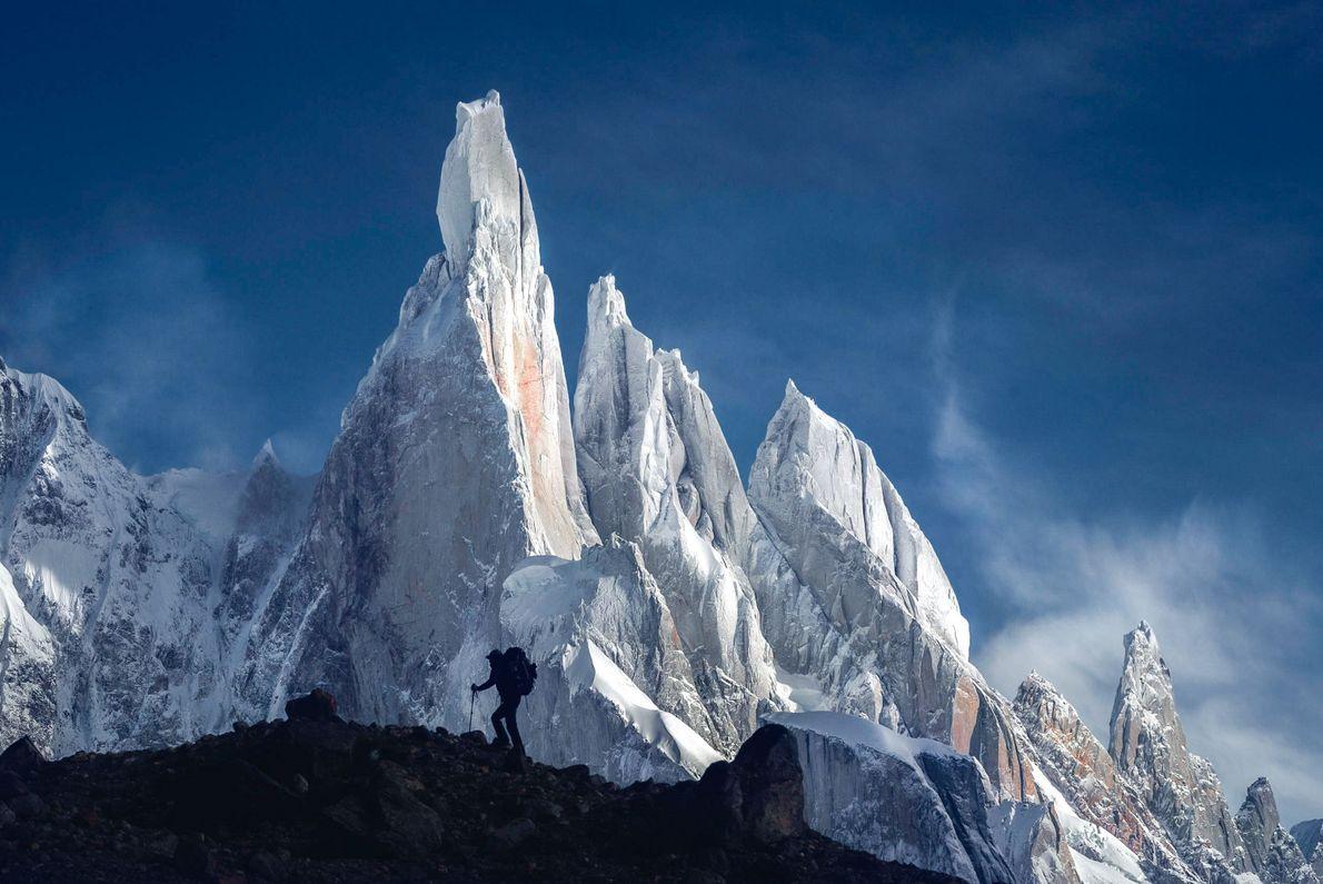 Cerro Torre, Campo de Hielo Sur, Patagonien