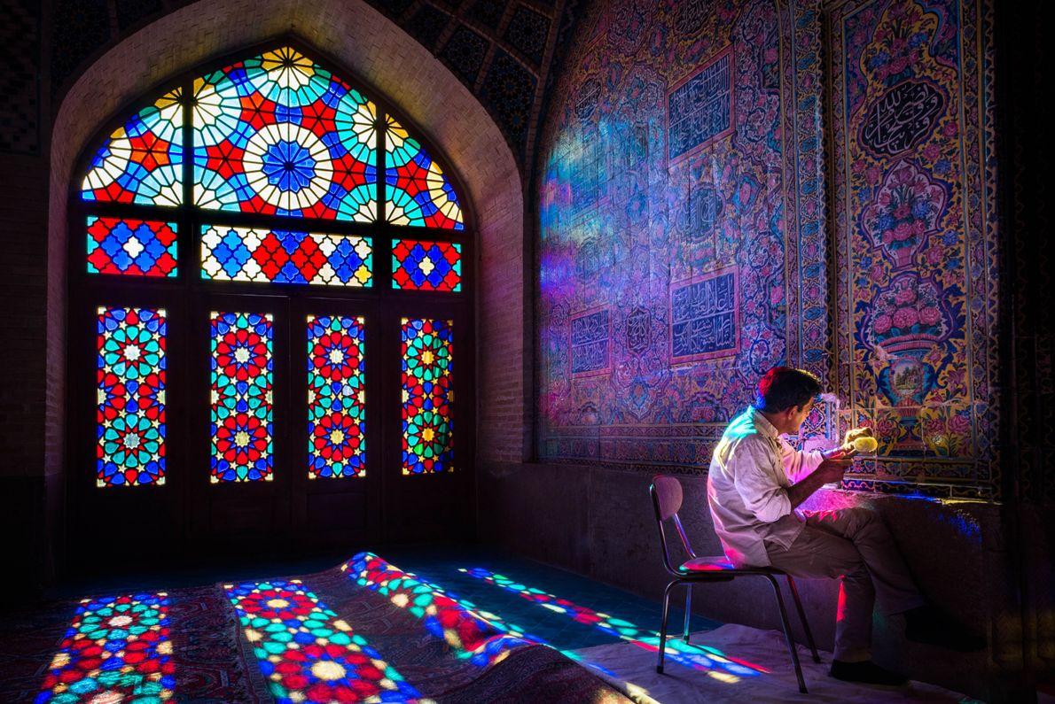 In der Pinken Moschee