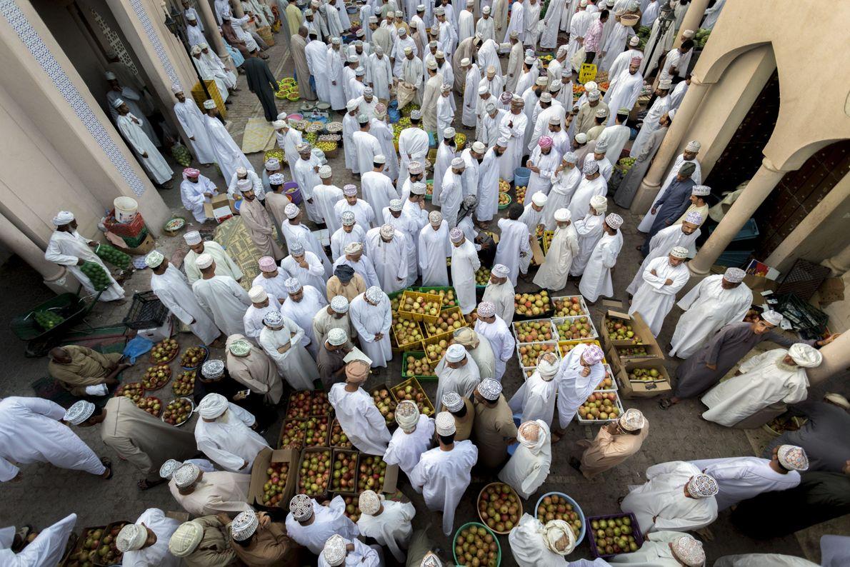 Granatapfel-Markt im Oman