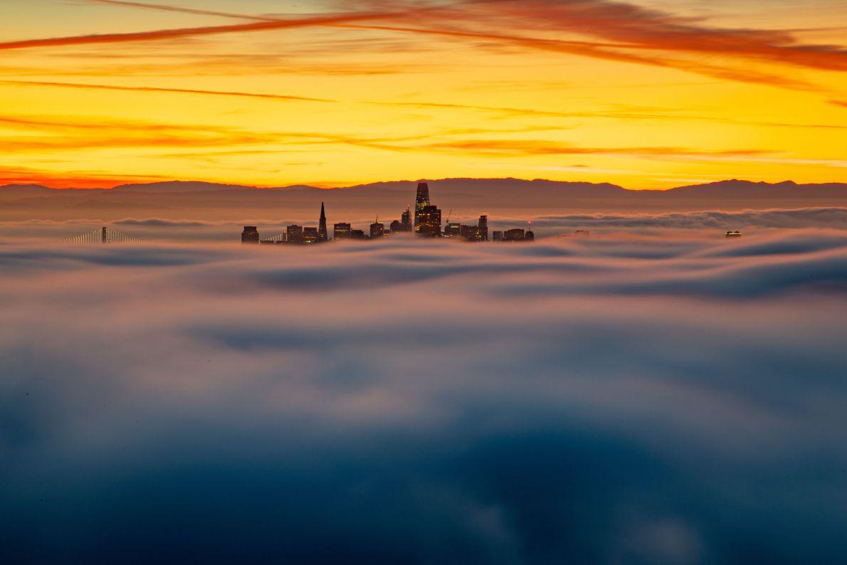 Nebel über San Francisco