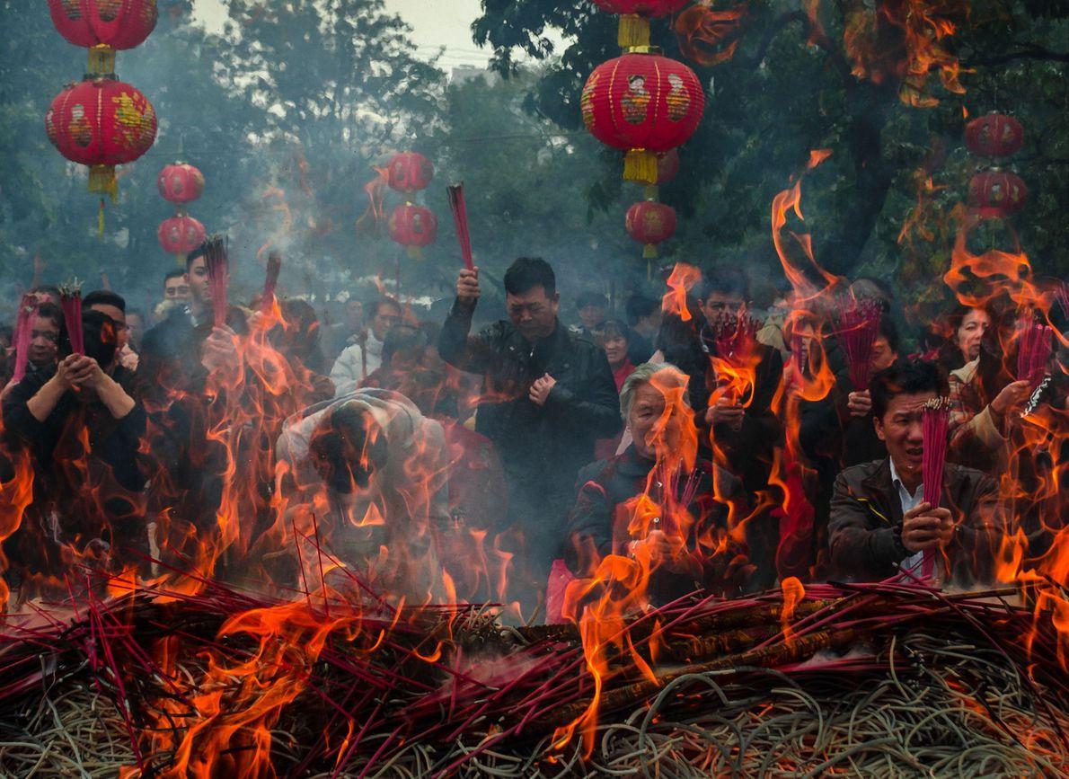 Feierlichkeiten zum Chinesischen Neujahr