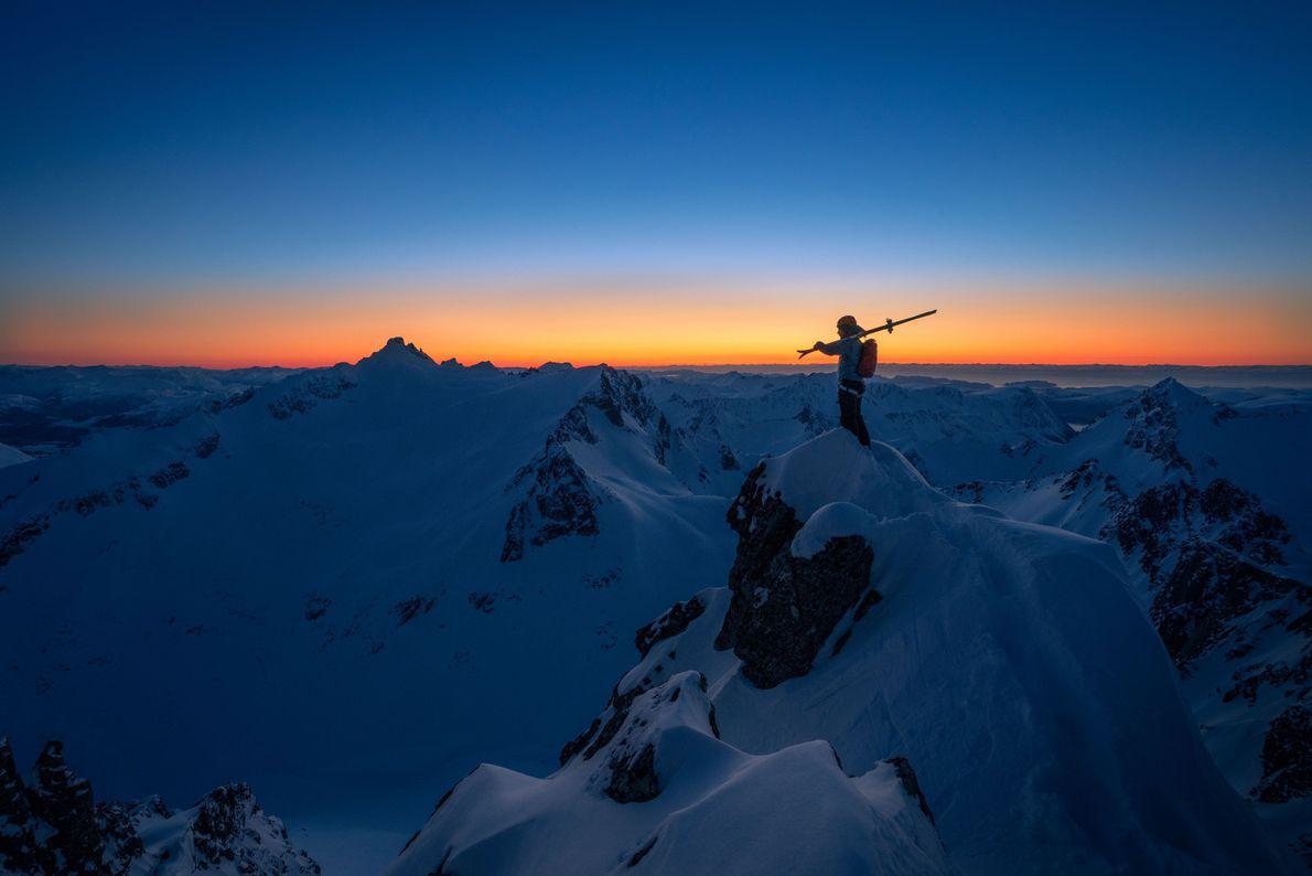 Skifahren in Sunnmøre