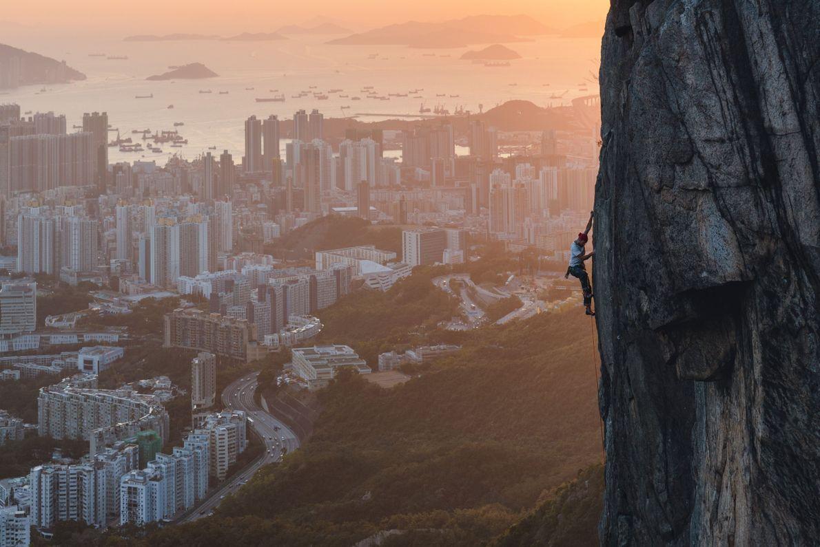 Lion Rock in Hongkong