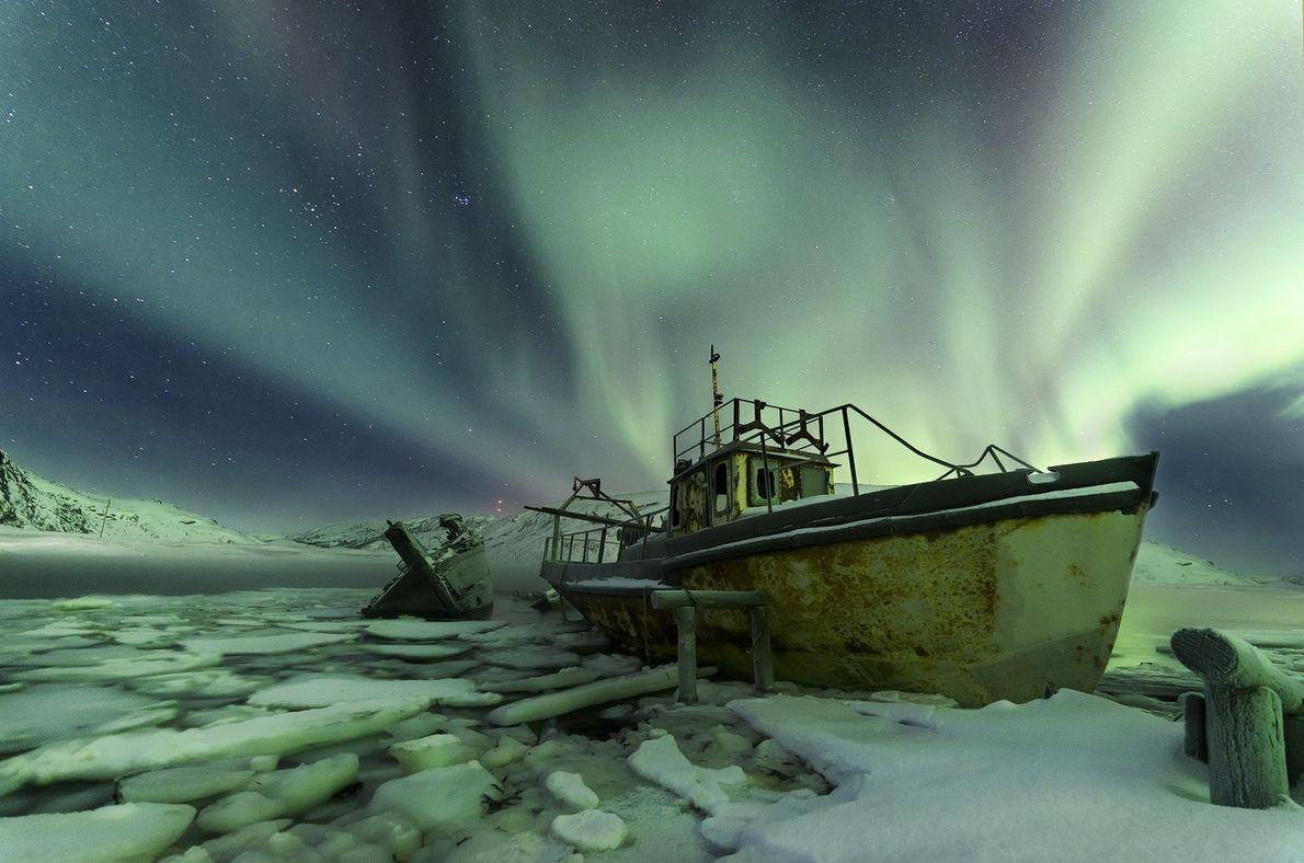 Leuchtende Schiffe