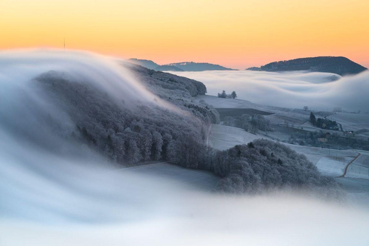 Schweizer Sonnenaufgang