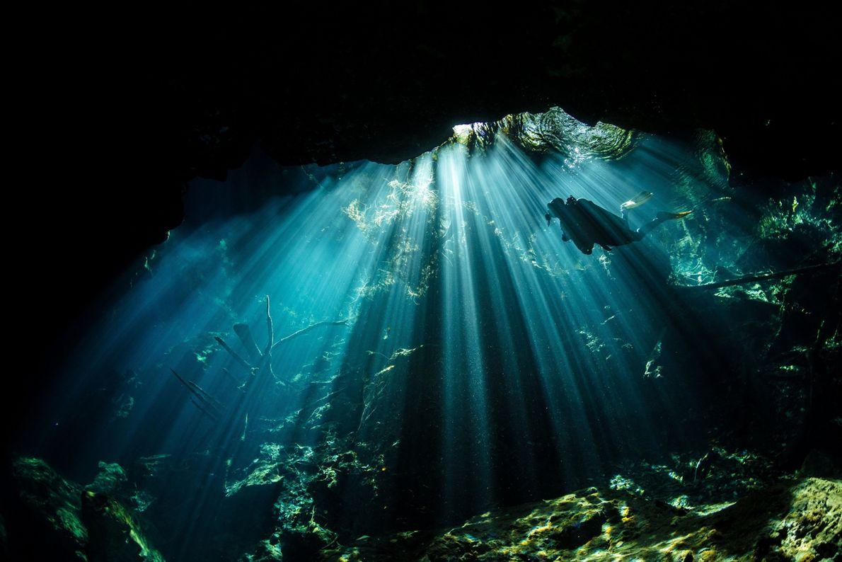 Unterwassersonne