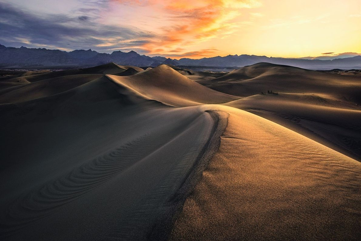 Mesquite Sand Dunes im Death-Valley-Nationalpark