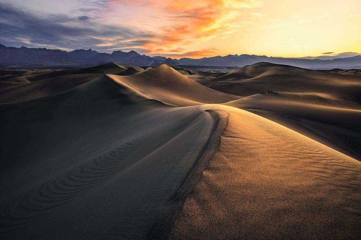 Mesquite Sand Dunes im Death-Valley-Nationalpark