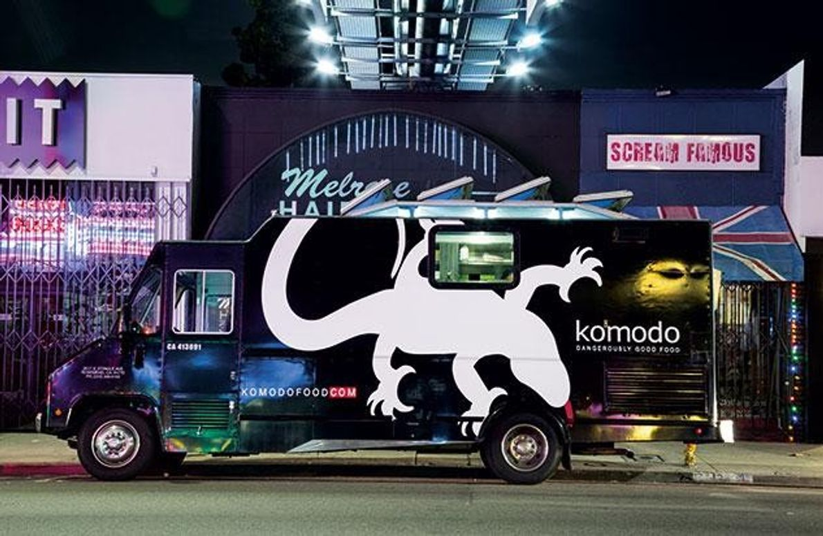 Ihr Angebot reicht vom Kobe-Rind-Hamburger über halal geschlachtetes Hühnchen bis zu Sesameis.