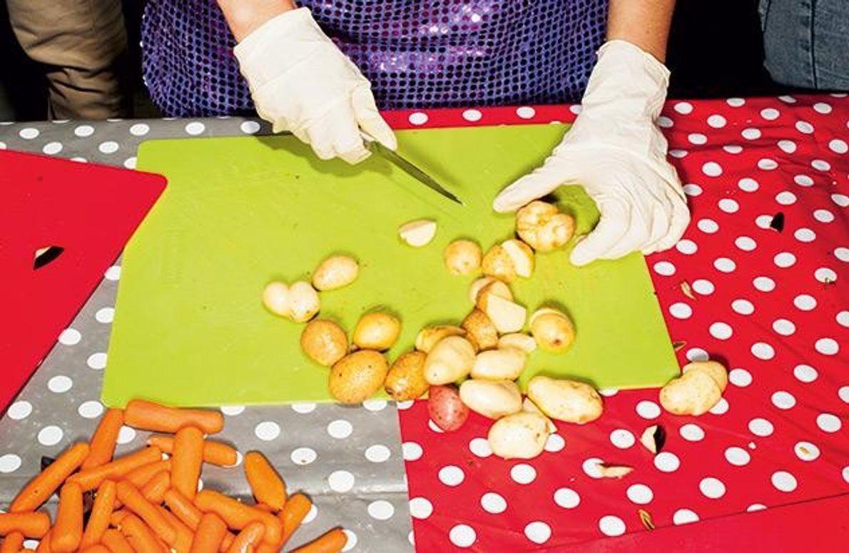 Festmahl gegen die Verschwendung