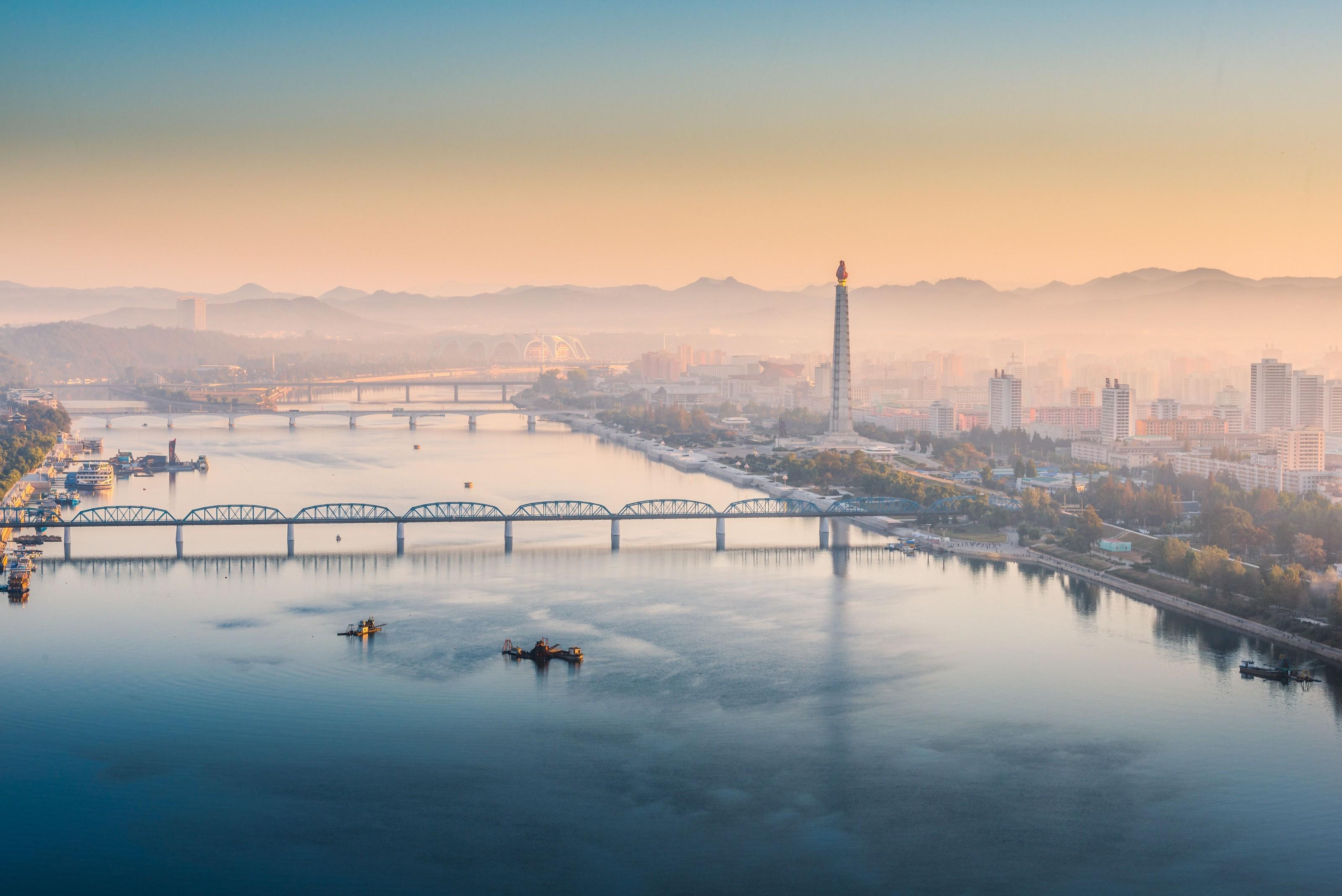 Morgen in Pjöngjang