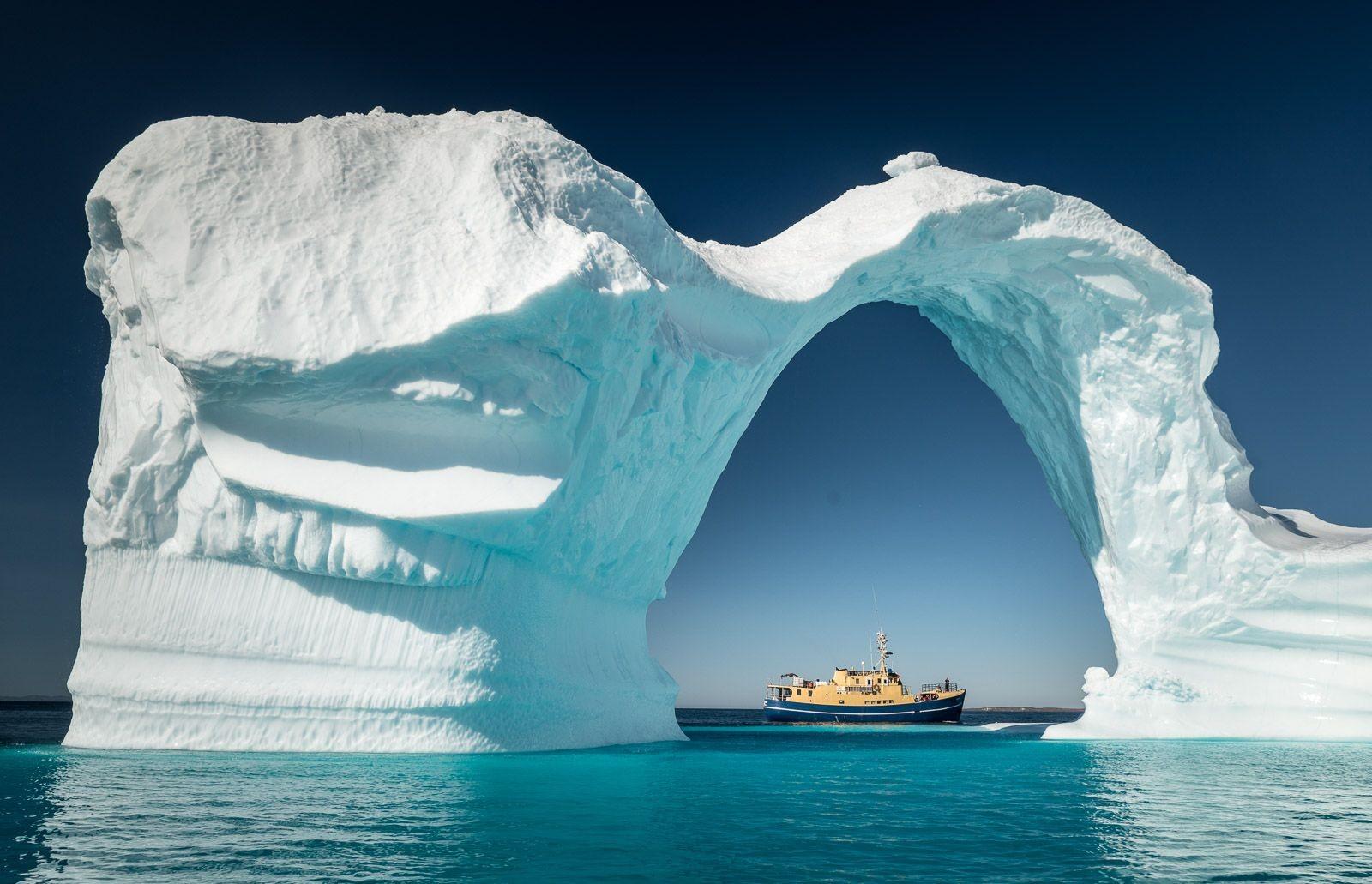Bogen aus Eis