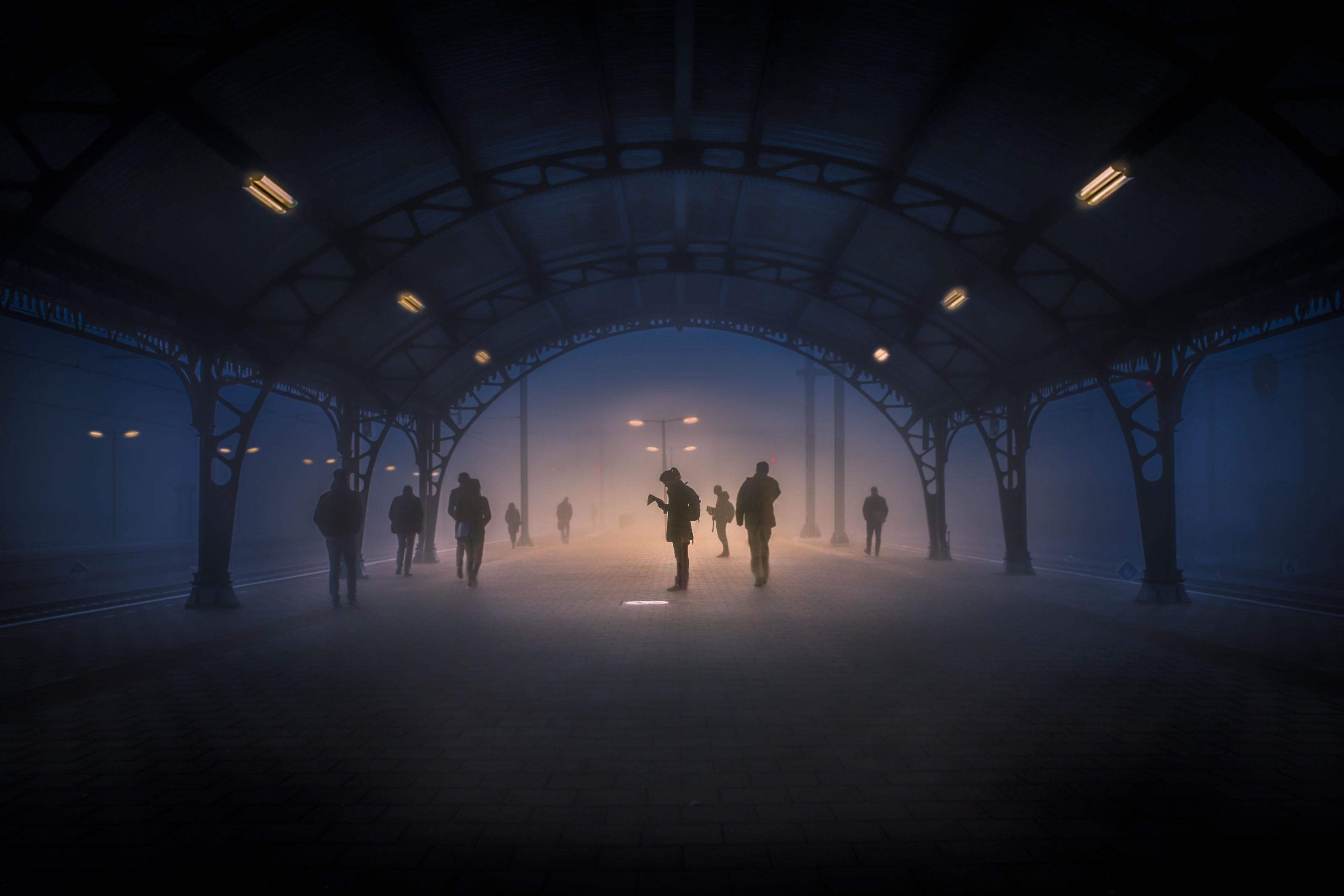 Verbindung im Nebel