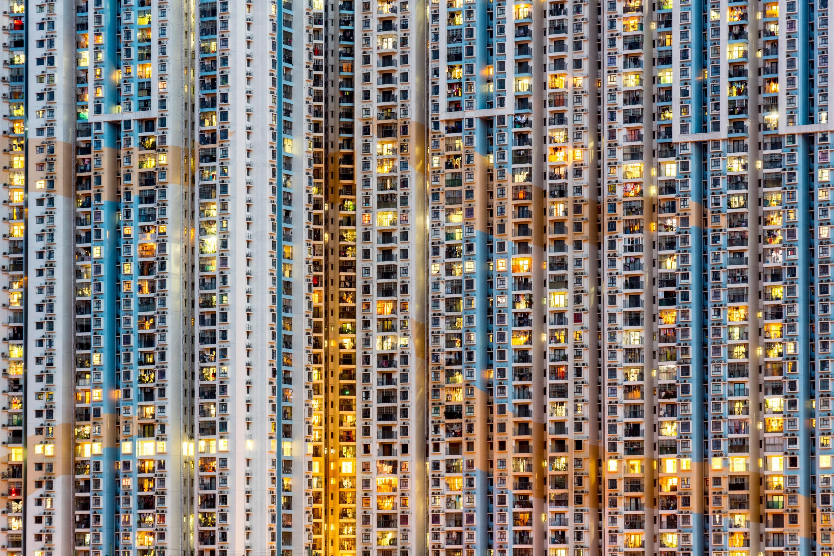Daheim im Wolkenkratzer