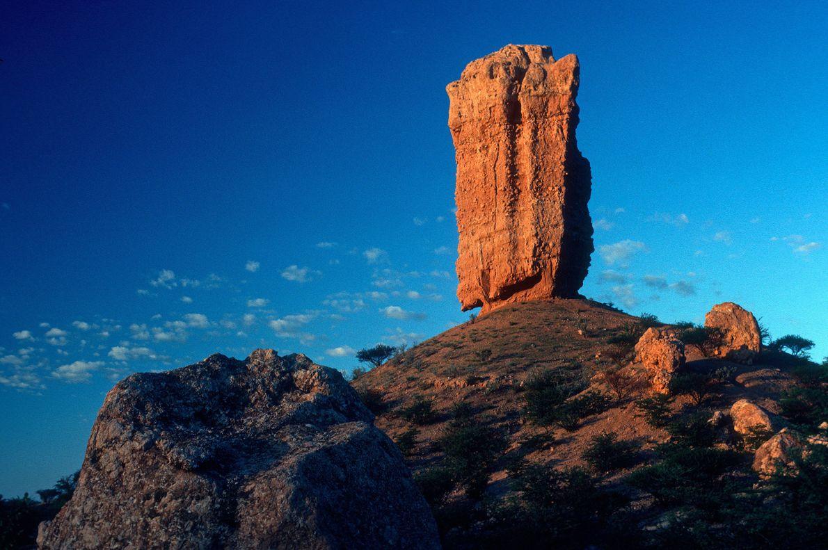 MUKUROB ROCK, NAMIBIA