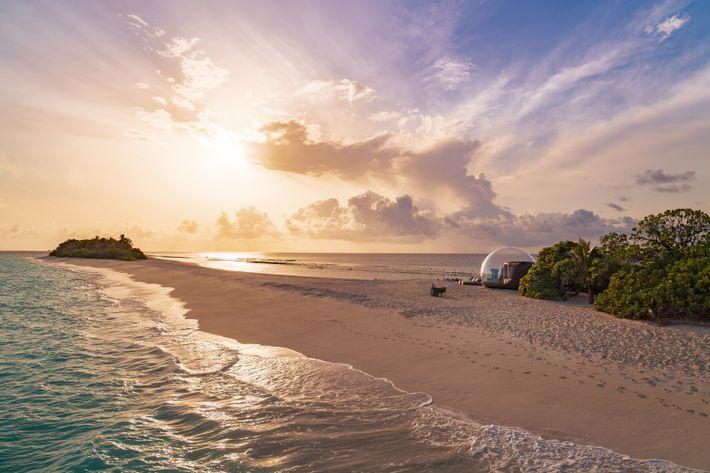 Finolhu Beach Bubble Malediven