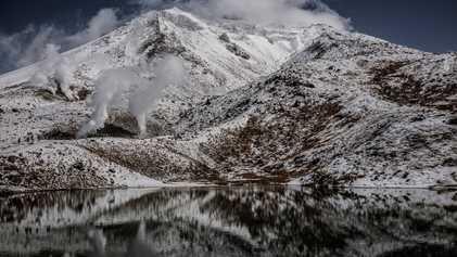 Das Winterwunderland im Norden Japans