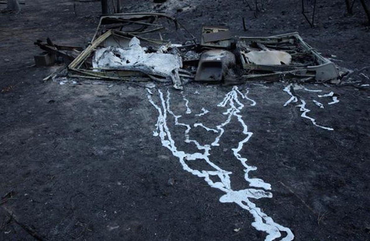 Flächenbrand, Bastrop