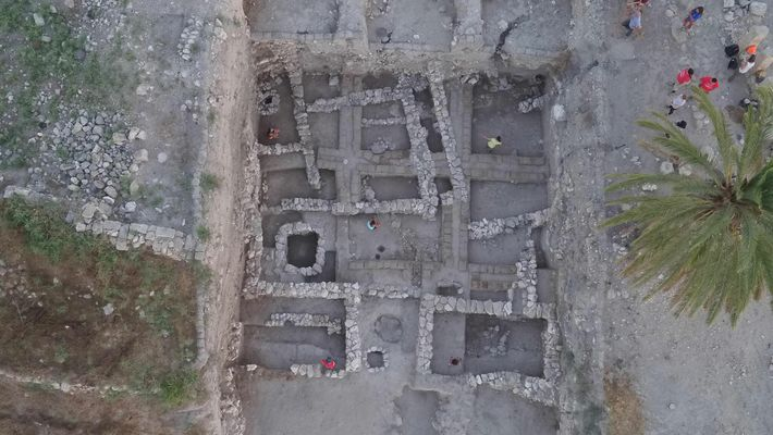 Ausgrabungen in Megiddo zeigen, dass die Elite damals Lebensmittel auf Sojabasis und Kurkuma zu sich nahm, ...