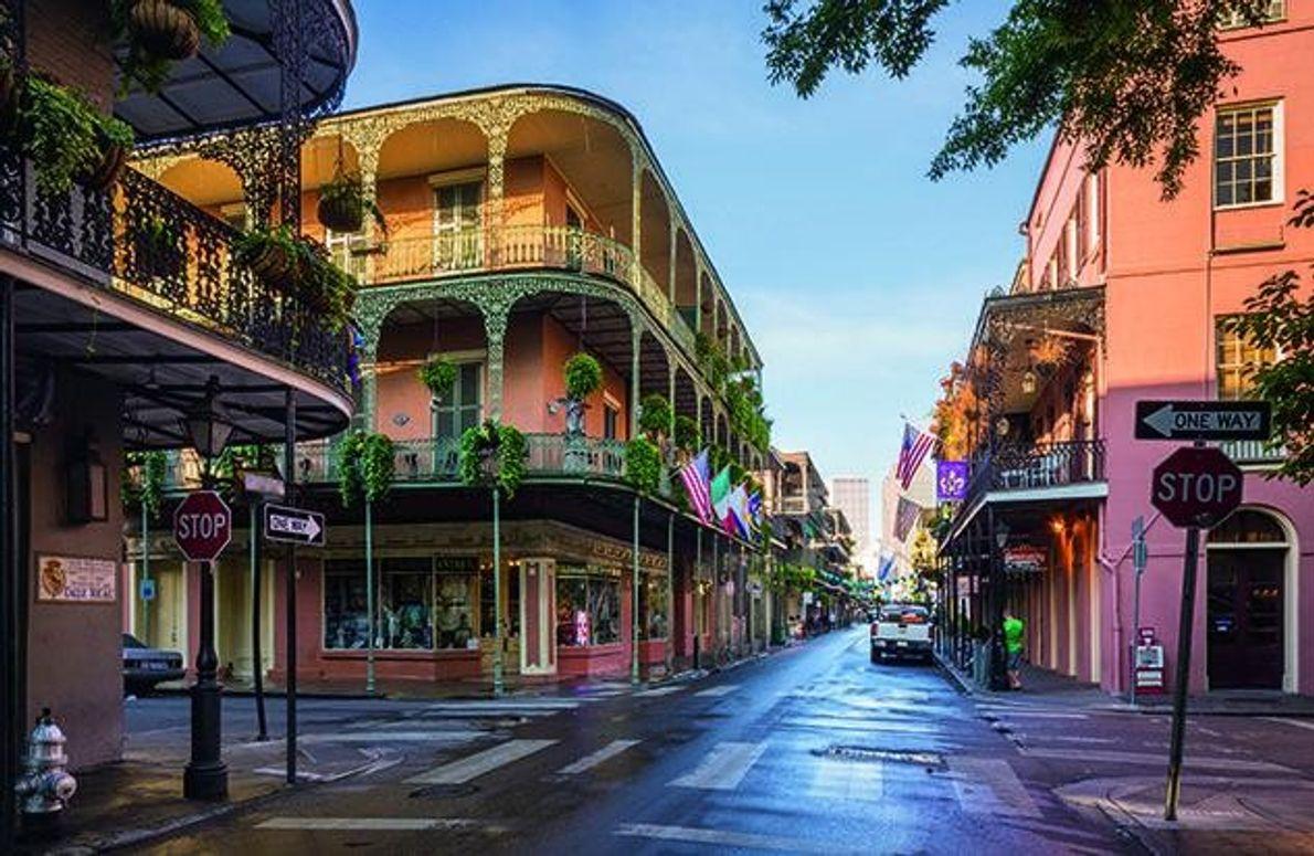 Das French Quarter ist das älteste Viertel in New Orleans: 1718 ließen sich hier die ersten …