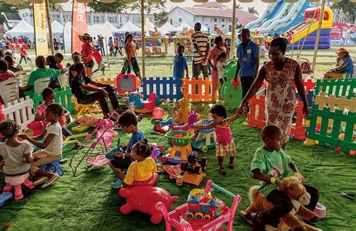 """""""Fun Day"""" in Lagos"""