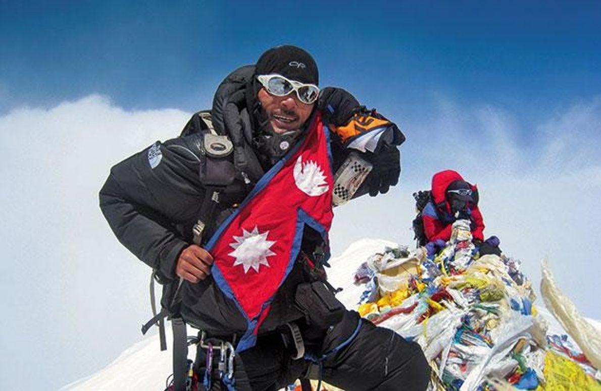 Gedenken an Ankaji Sherpa