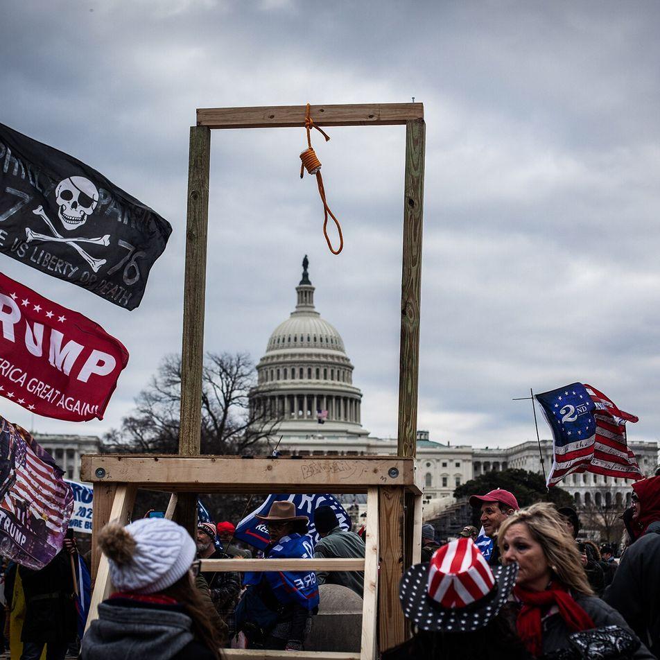 Erklärt: Die Hasssymbole der Kapitolstürmer