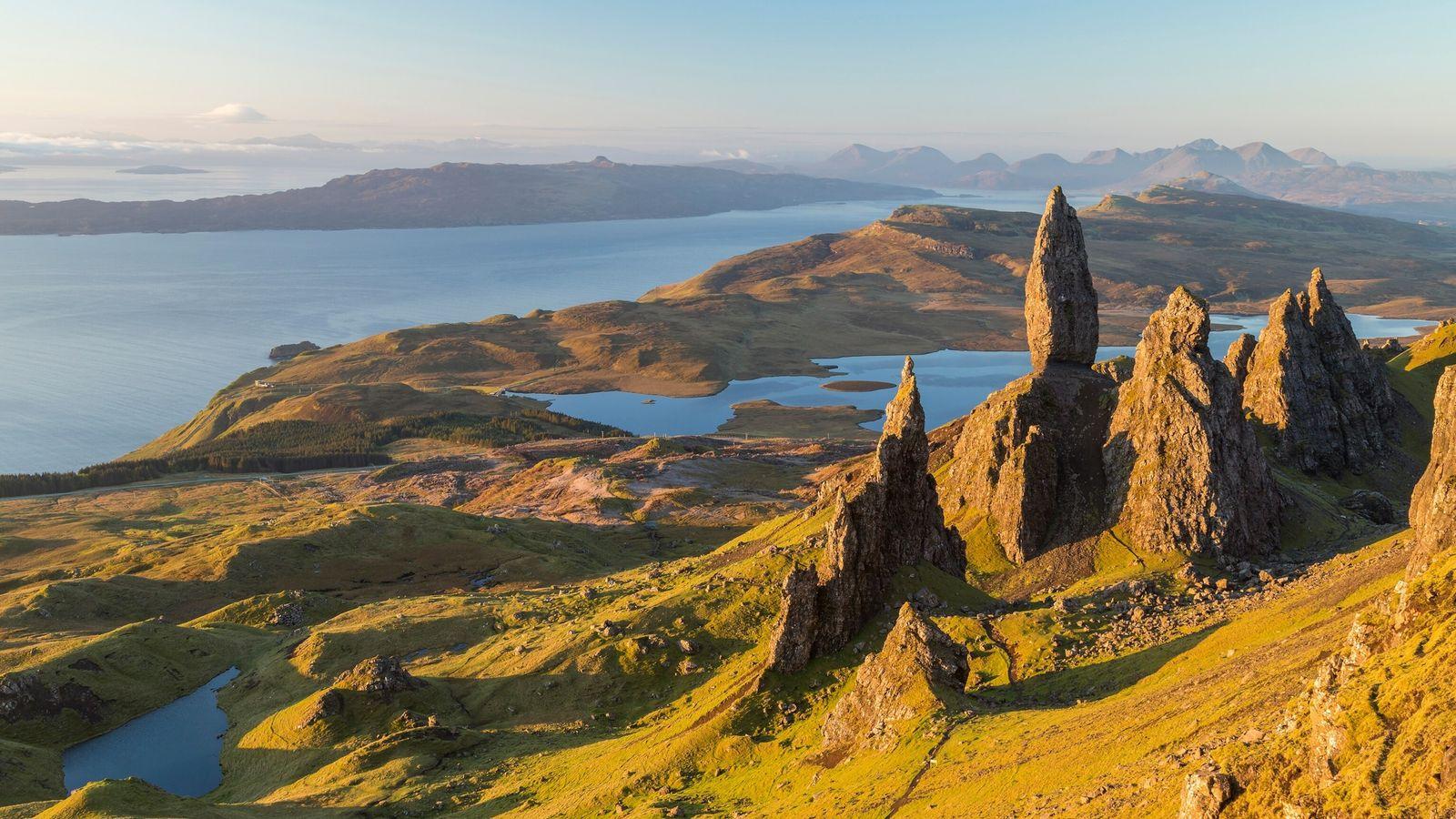 The Old Man of Storr. Trotternish. Isle of Skye. Schottland