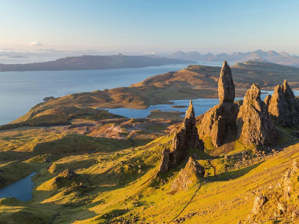 Wo sich Schottlands Feen und Kriegerköniginnen verstecken