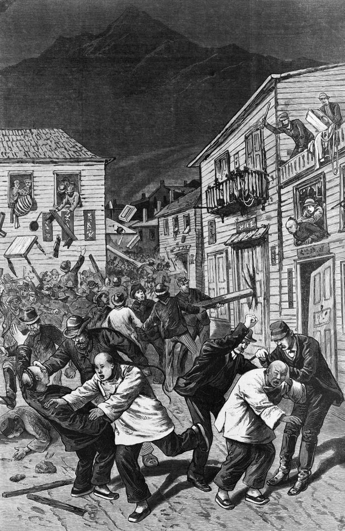 Antichinesischer Aufstand in Denver, Colorado, 1880