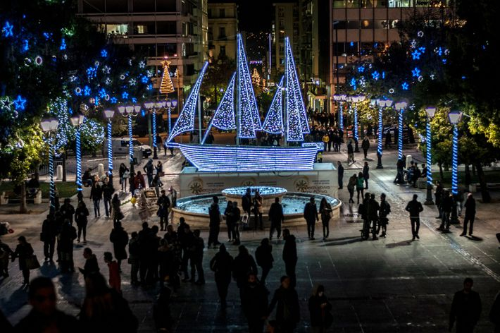 Griechenland, Weihnachtsschiff