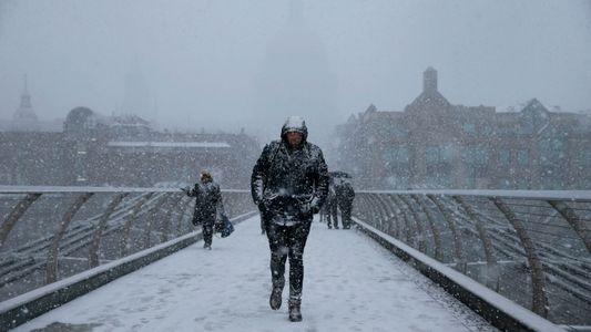 Arktischer Eisschwund könnte für mehr Schnee in Europa sorgen