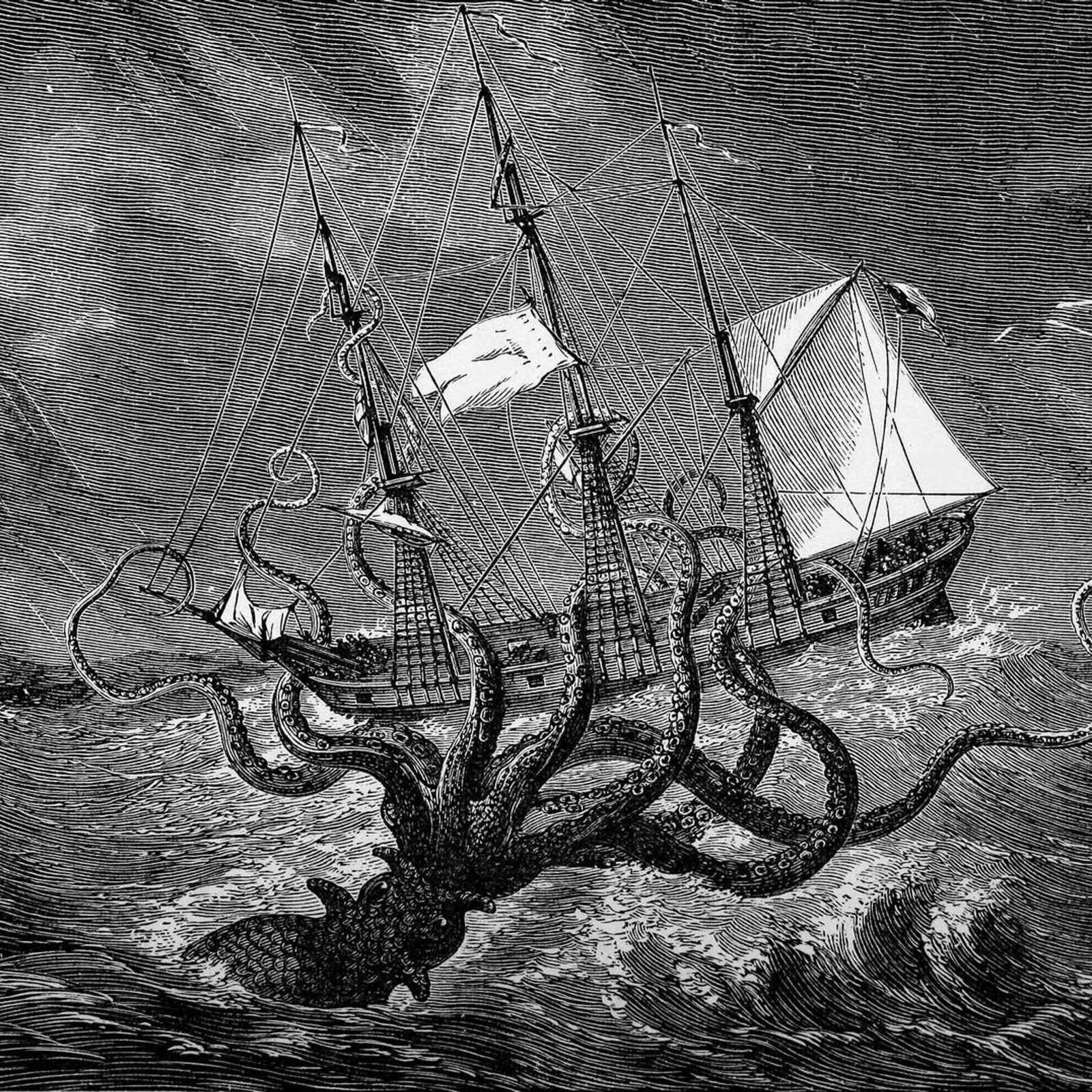 Berühmte Seeungeheuer, die in die Geschichte eingegangen sind.
