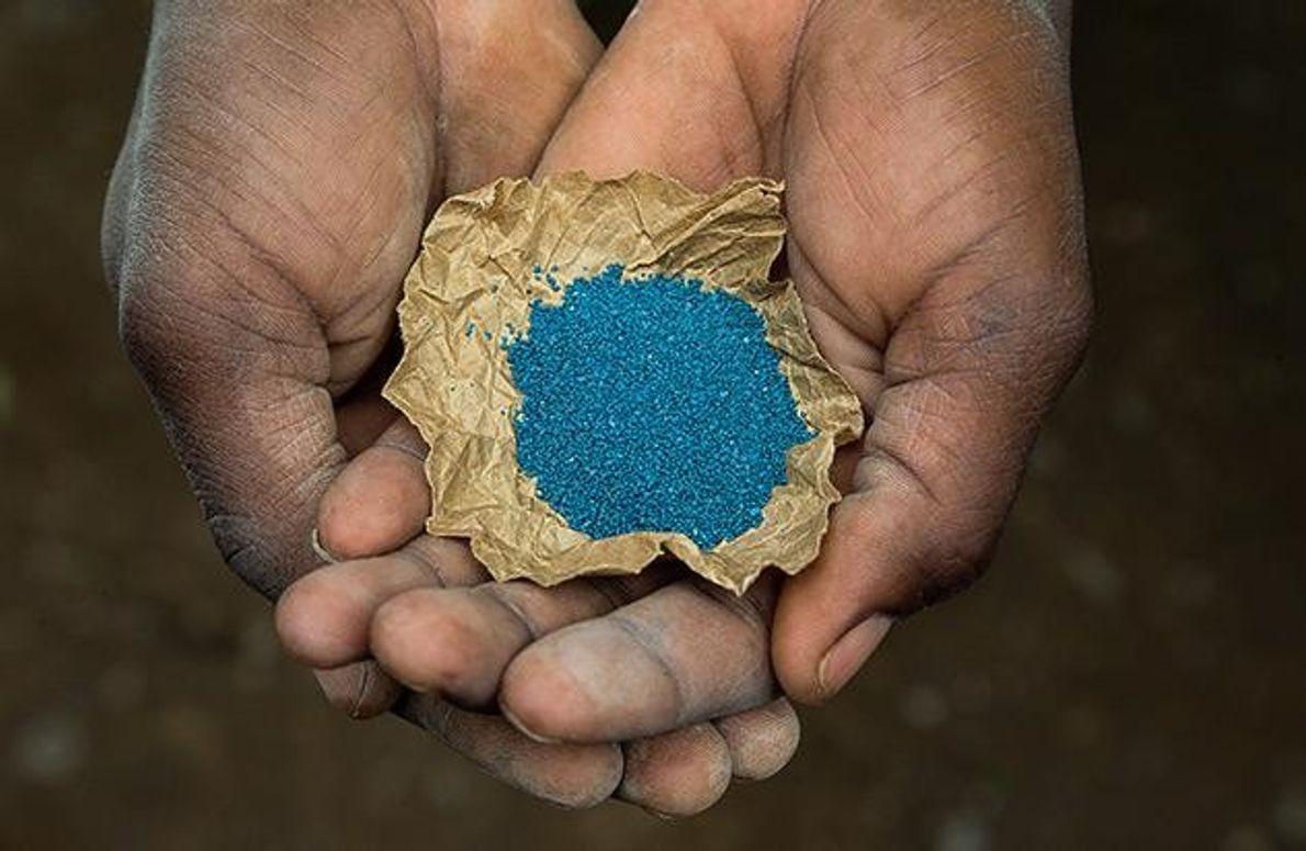 Giftiges Blau