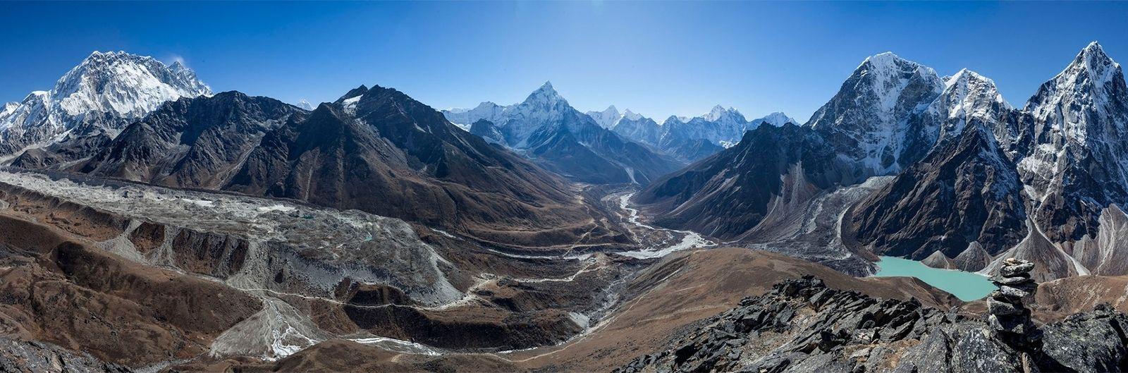 Gletscherseen im Khumbu-Tal