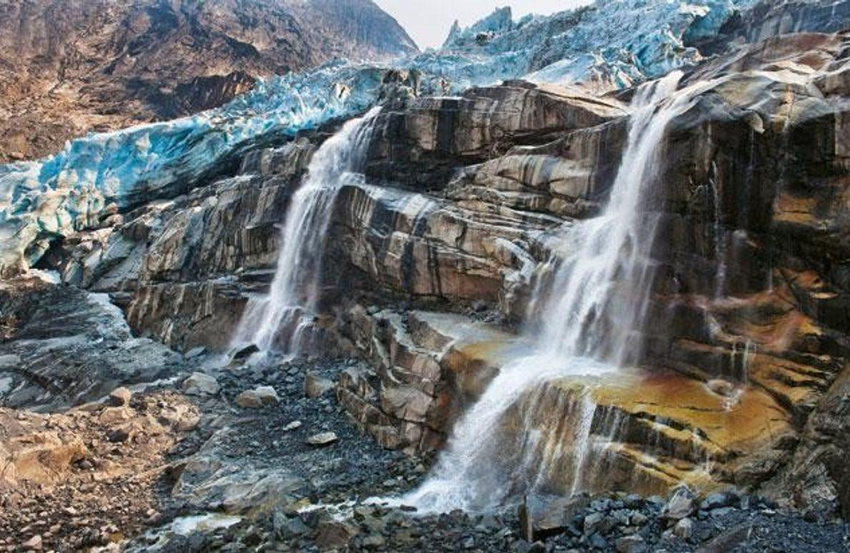 Gletscher und Eiskappen