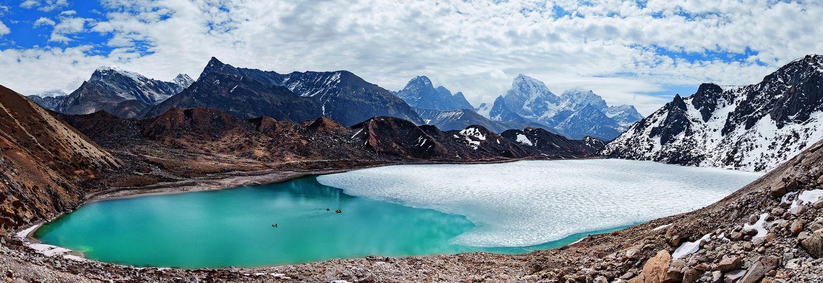 Gletscher im Himalaja