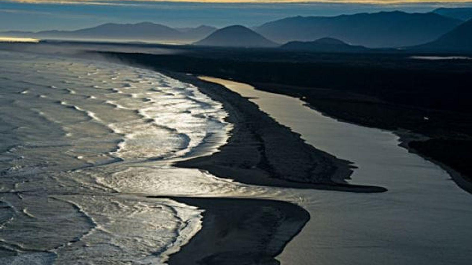 Gletschergeformtes Land